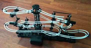 Kugelbahn mit Looping - Nachtleuchtende Edition - 2