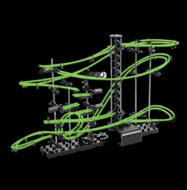 Kugelbahn mit Looping - Nachtleuchtende Edition - 3