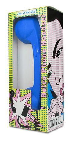 Telefonhörer für Handys - blau - 2