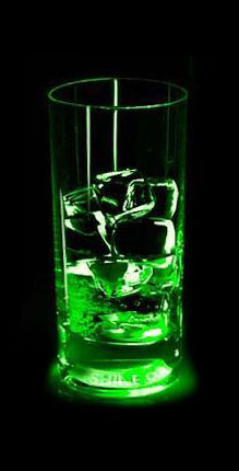 Leuchtglas mit Touch Funktion - grün - 2