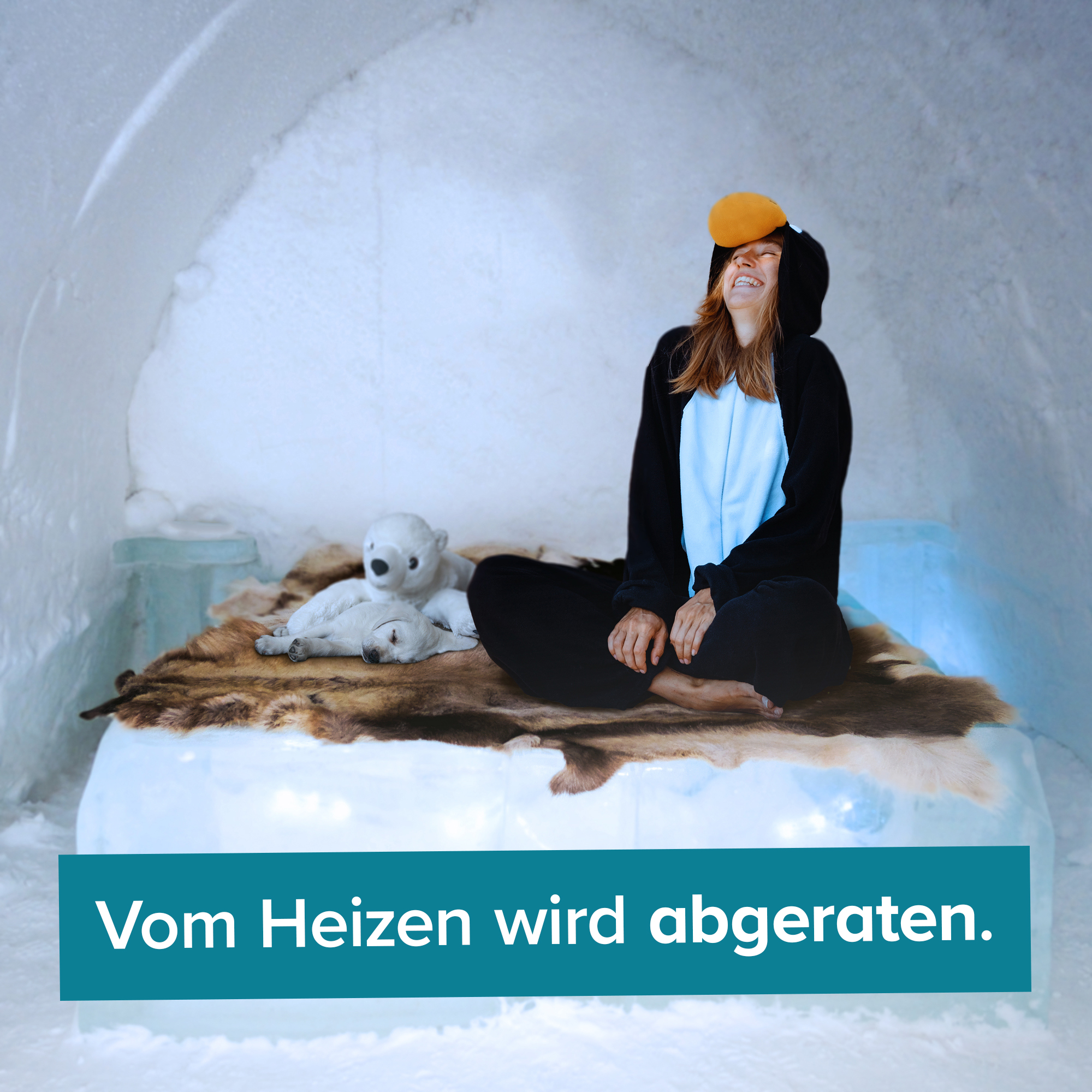 Iglu Bausatz für zuhause - Igloo yourself - 8