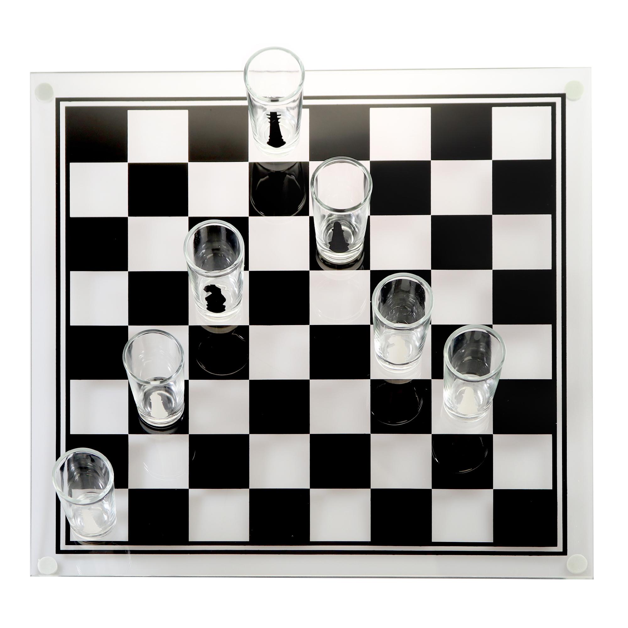 Schnapsgläser Schach - Trinkspiel - 2