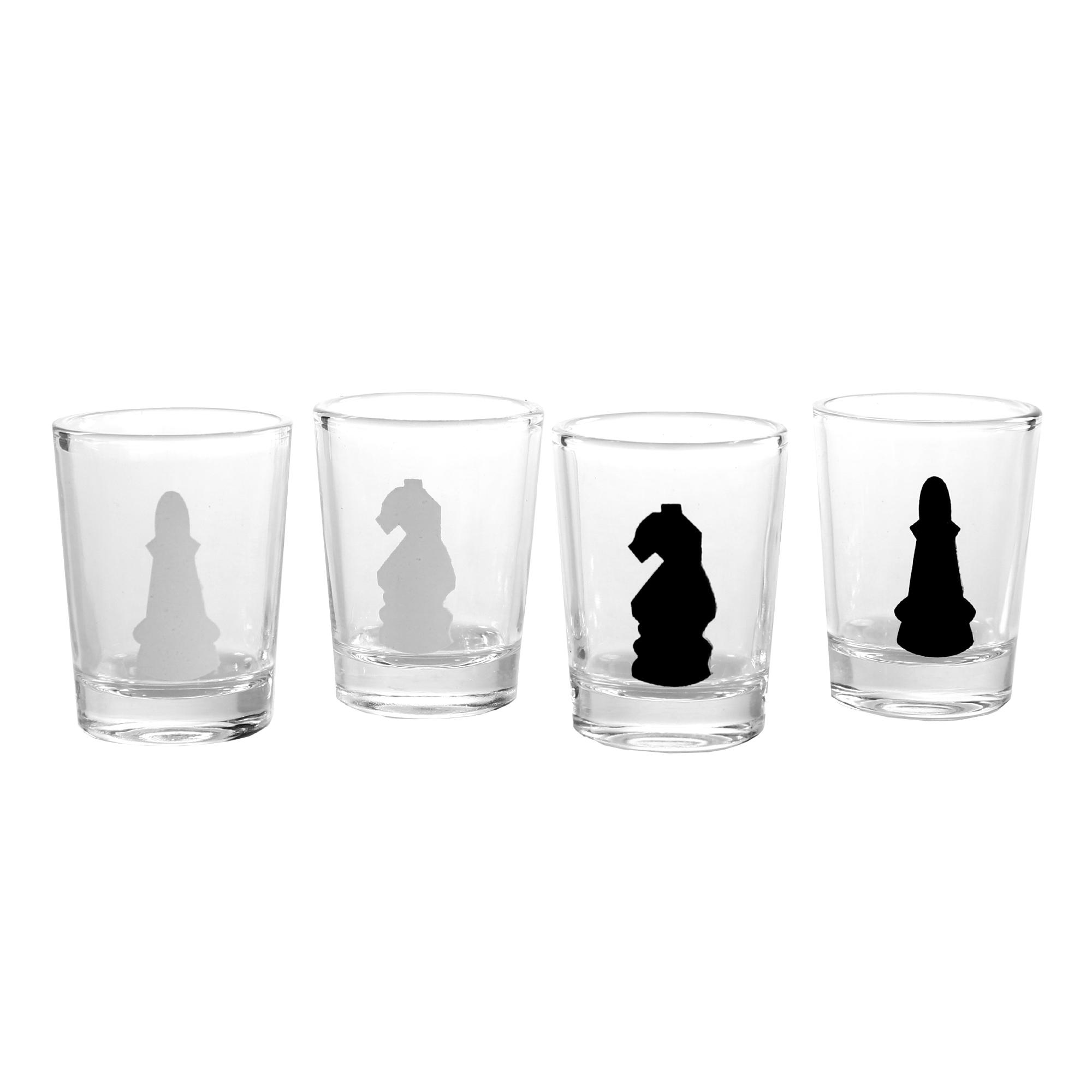 Schnapsgläser Schach - Trinkspiel - 3