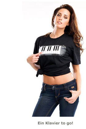 Sound T-Shirt Piano - 2