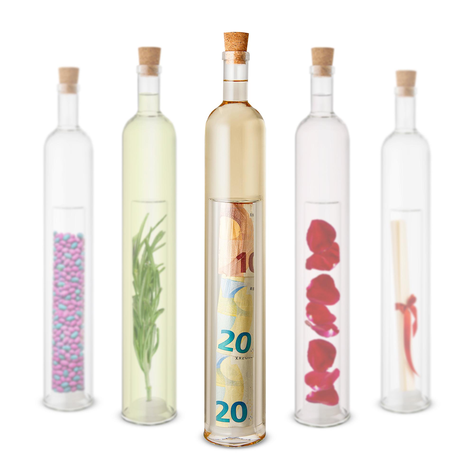 Geschenkflasche mit Hohlraum - 3