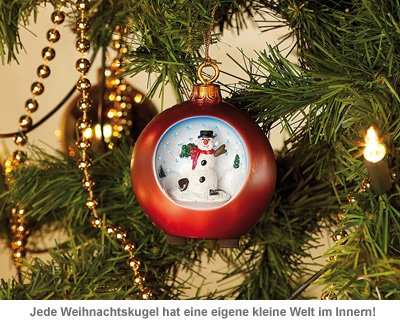 LED Weihnachtskugeln - 4
