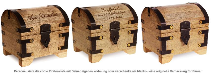 Geldgeschenke Schatzkiste - 2
