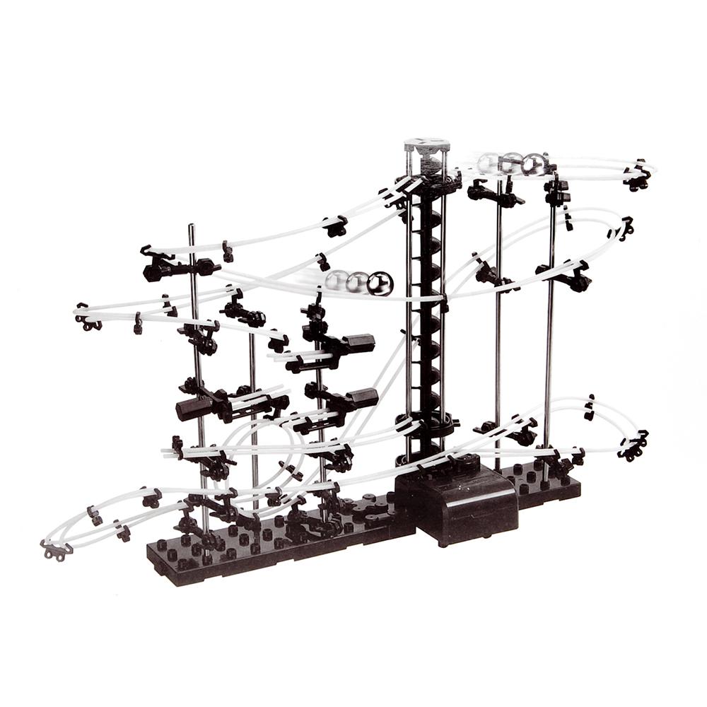 Kugelbahn mit Looping (193-teiliger Bausatz) - 4