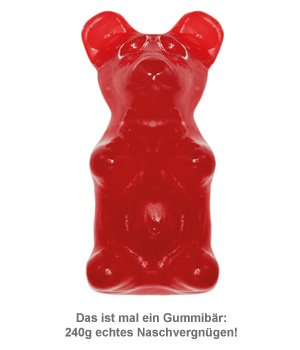 Riesen Gummib�r - 2