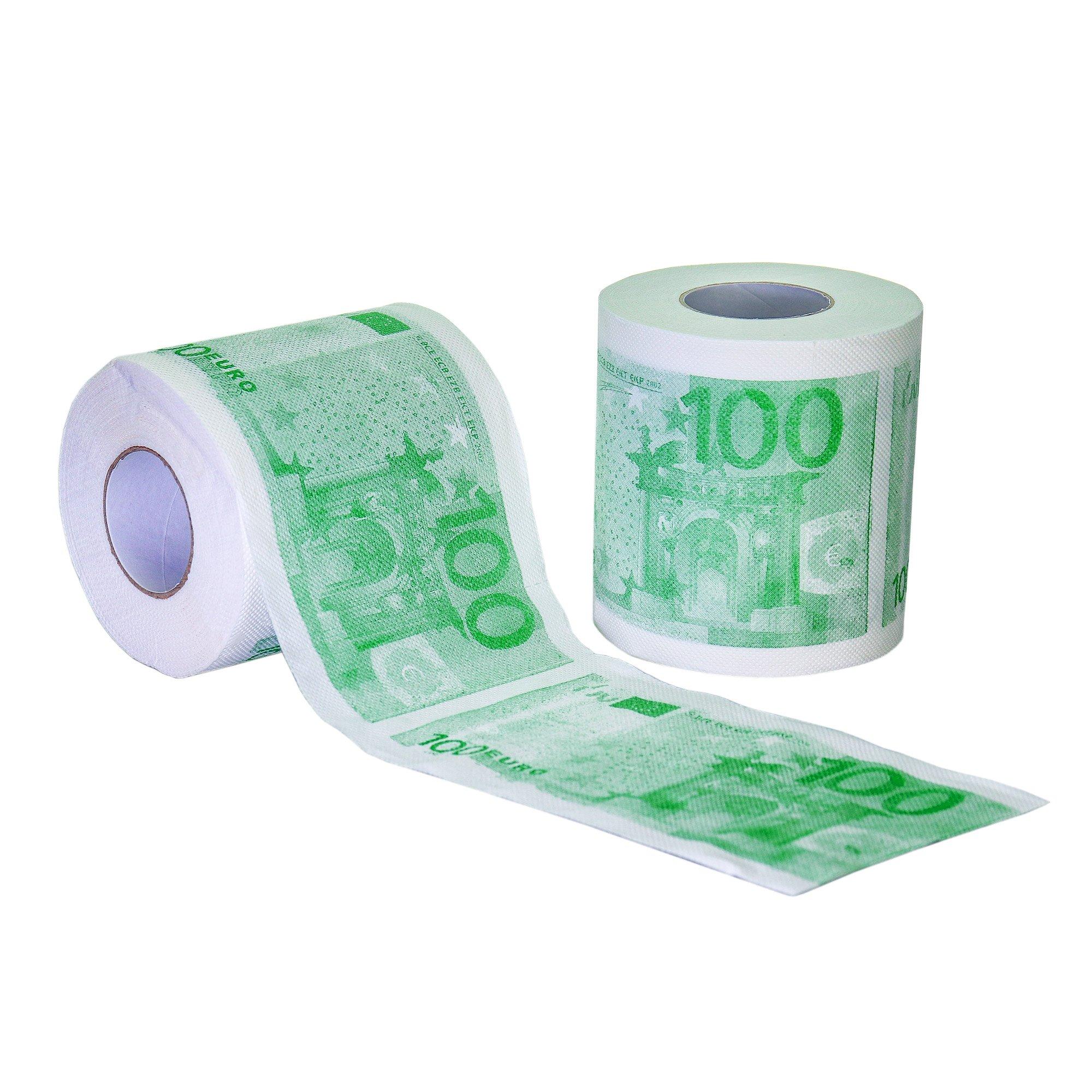 Geld Toilettenpapier - 100 Euro Schein - 2