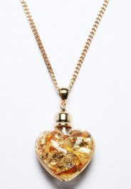 Goldener Herz Anhänger - 2