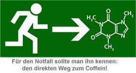 Leucht-Tasse Coffein - 2