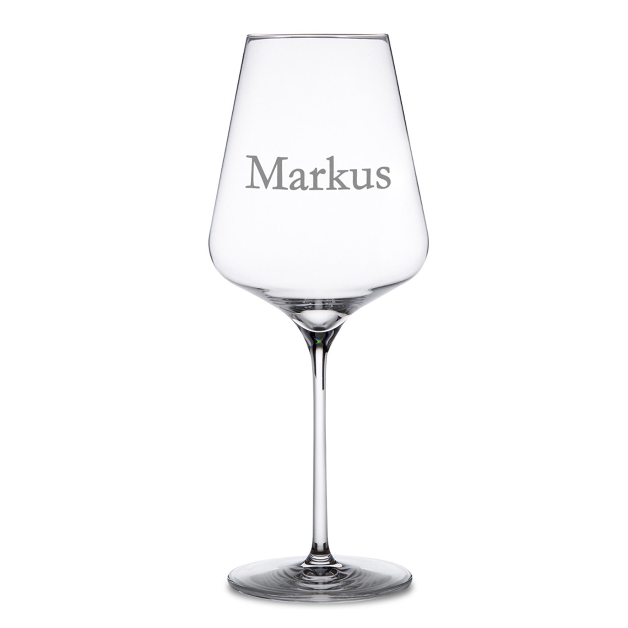 Weinglas mit Gravur - 2