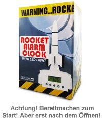 Wecker mit Rakete - 3