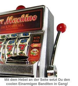 Einarmiger Bandit - Spardose und Geldgeschenk - 2