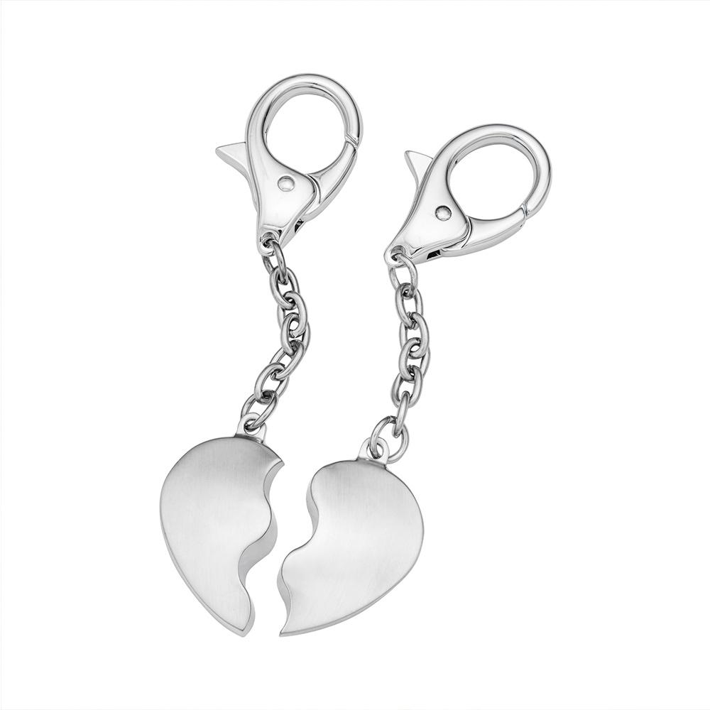 Herz Schlüsselanhänger für Paare - 3