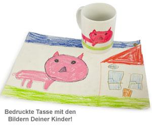 Persönliche Kinderbilder Tasse - 3