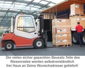 Riesenrad 1.4 Mio.-teiliger Bausatz - 5
