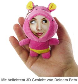 3D Foto-Puppen Schlüsselanhänger - 4