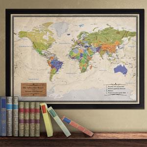 Reise-Weltkarte Deluxe - 3