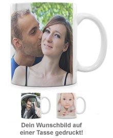 Fototasse Frau - personalisiert - 2