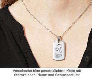 toller personalisierter schmuck army dog tag kette. Black Bedroom Furniture Sets. Home Design Ideas
