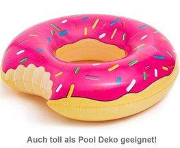 Aufblasbare Luftmatratze - Donut - 3