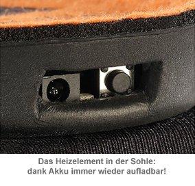 Beheizbare Sohlen - Akku Schuheinlagen - 3