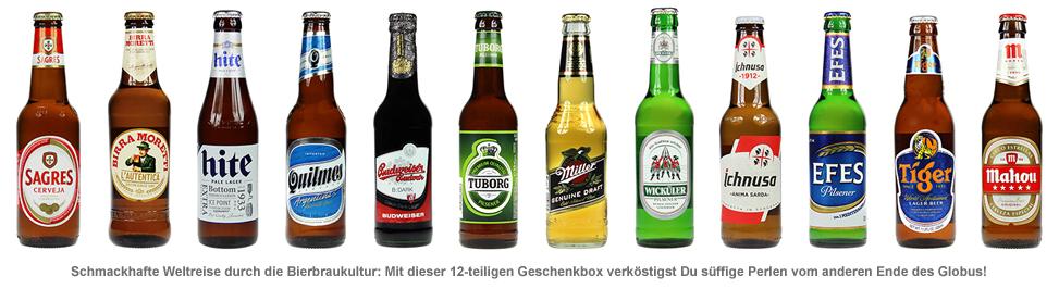 Bier Weltreise XL - 12er Geschenkbox - 2