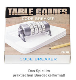Bierdeckel Spiele - Code Breaker - 3