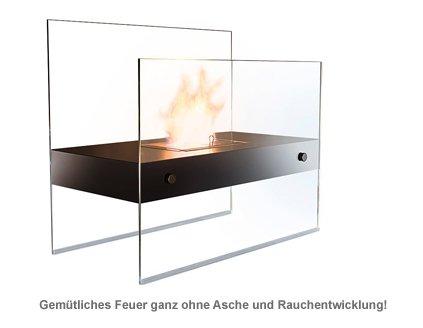 Bioethanol Kamin aus Glas - Deluxe - 2