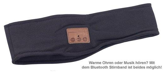 Bluetooth Stirnband mit Kopfhörern - 2