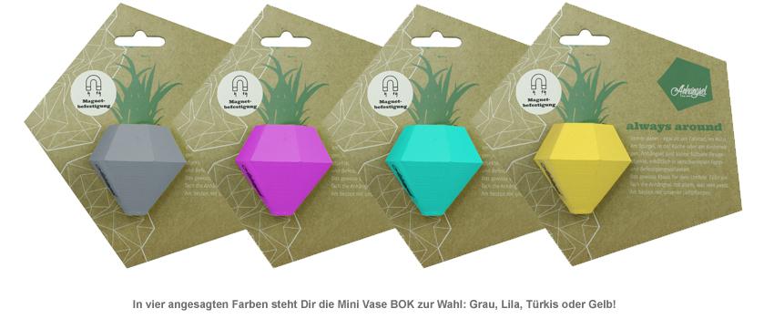 Bok Anhängsel - Mini Vase - 2