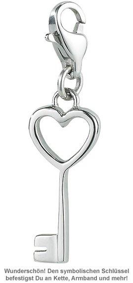 Charm Anhänger - Schlüssel zu meinem Herzen - 2