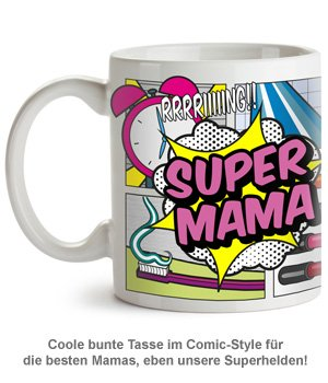 Comic Tasse - Super Mama - 2