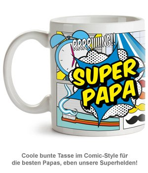 Comic Tasse - Super Papa - 2