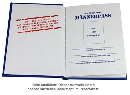 Der ultimative Männer-Pass - 2
