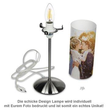Design Fotolampe zur Hochzeit - personalisiert - 2