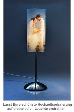 Design Fotolampe zur Hochzeit - personalisiert - 3