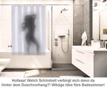 Duschvorhang - Frauenkörper - 2