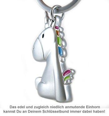 Einhorn Schlüsselanhänger - 3