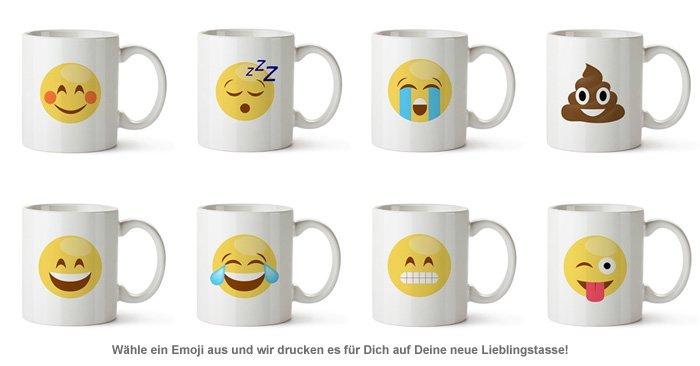 Emoji Tasse - Gefühle - 2