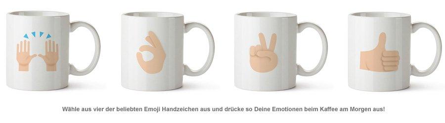 Emoji Tasse - Handzeichen - 2