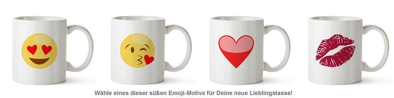Emoji Tasse - Liebe - 2