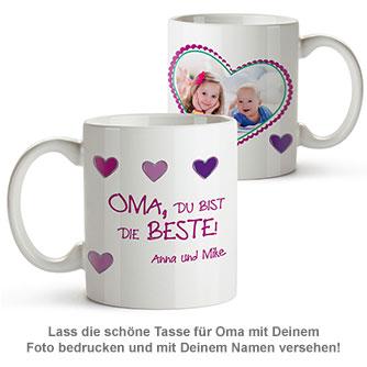 Fototasse - Oma ist die Beste - 2