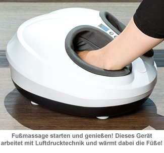 Fußmassagegerät mit Wärmefunktion und 3D Luftmassage - 2