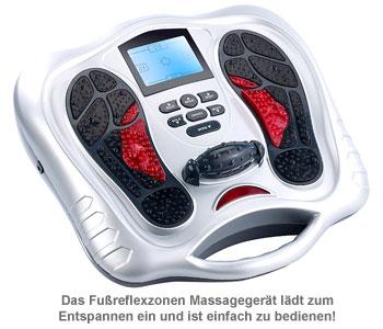 Fußreflexzonen Massagegerät mit Infrarot und Reizstrom - 2
