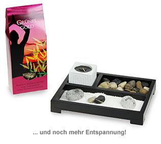 Geschenkset Zengarten und Teemischung - 3