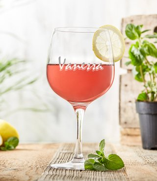 Gin Glas - Namensgravur - 3