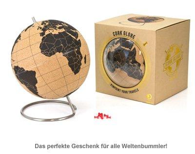 Globus aus Kork - 2